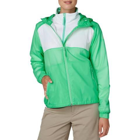 Helly Hansen Women's Green Skye Windbreaker Jacket