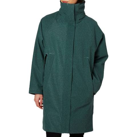 Helly Hansen Women's Blue Beloved Wool Coat
