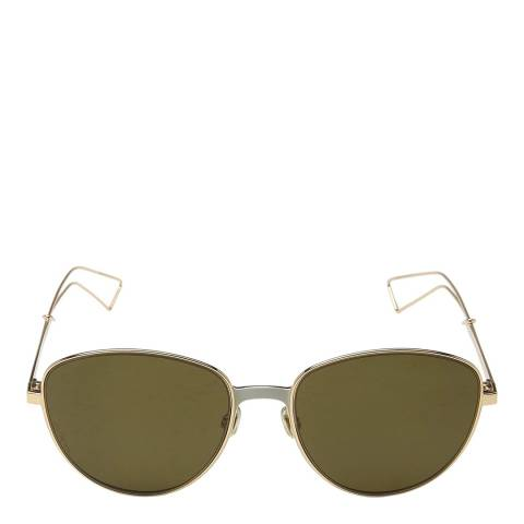Dior Unisex Green Dior Sunglasses 56mm