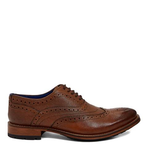 Ted Baker Brown Guri 8 Leather Oxford Brogue Shoes