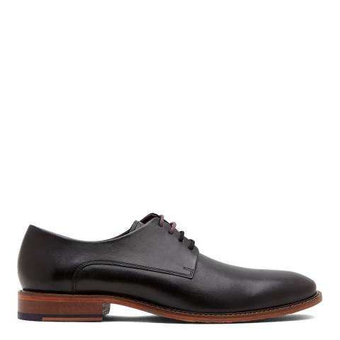 Ted Baker Black Leather Irron3 Derby Shoes