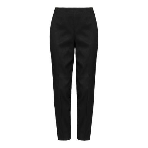 Ted Baker Black Miraat Textured Tailored Trouser