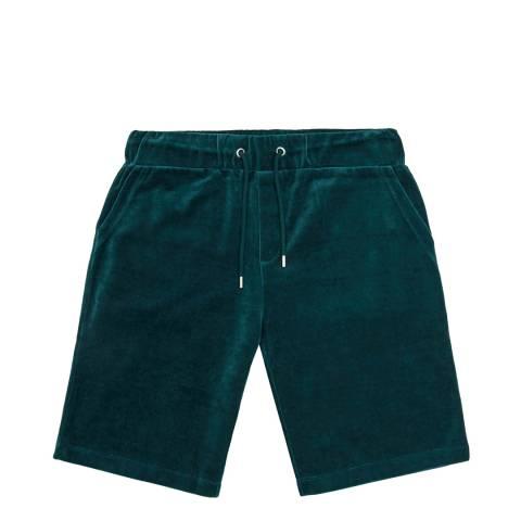Reiss Teal Justin Drawstring Shorts