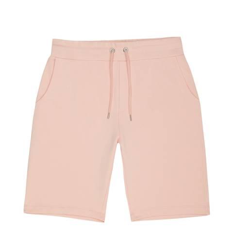 Reiss Pink Walter Cotton Blend Shorts