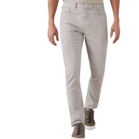 Reiss Light Grey Spruce Slim Stretch Jeans