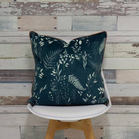 Riva Home Fearne 50x50cm Cushion, Teal