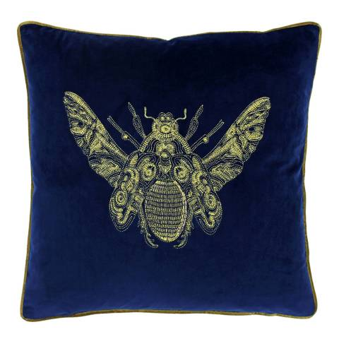Riva Home Royal Blue Cerana Filled Cushion 50x50cm