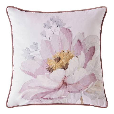 Ted Baker Butterscotch 45x45cm Feather Cushion, Grey