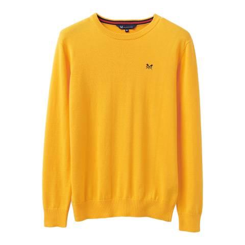 Crew Clothing Yellow Crew Neck Jumper
