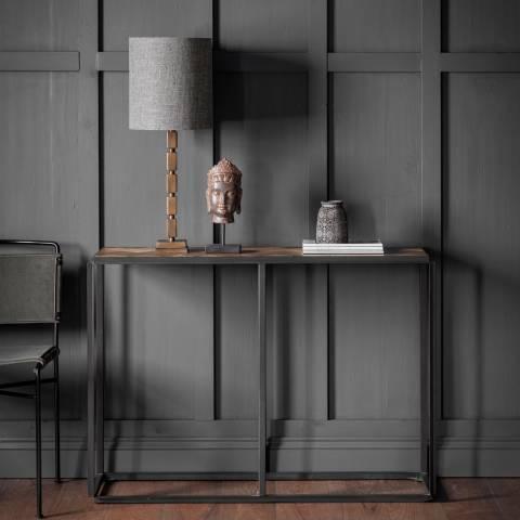 Gallery Parquet Console Table