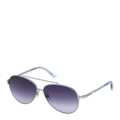 SWAROVSKI Women's Purple Swarovski Sunglasses 60mm