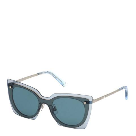 SWAROVSKI Women's Blue Swarovski Sunglasses 13mm