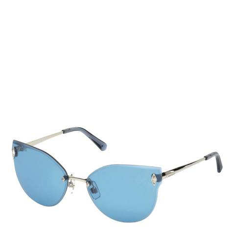 SWAROVSKI Women's Blue Swarovski Sunglasses 61mm