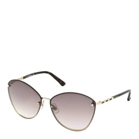 SWAROVSKI Women's Grey Swarovski Sunglasses 64mm
