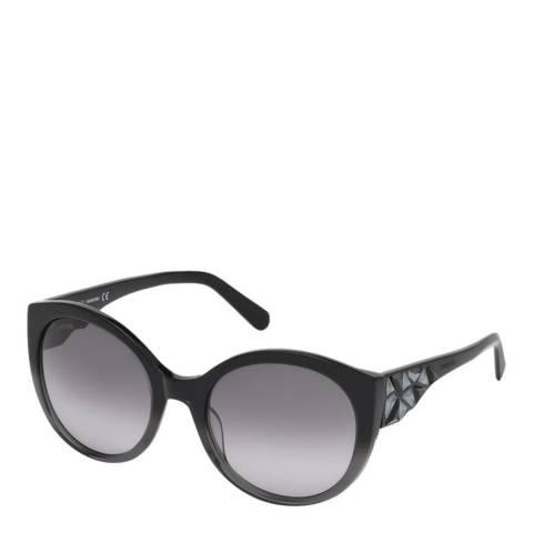 SWAROVSKI Women's Black Swarovski Sunglasses 57mm