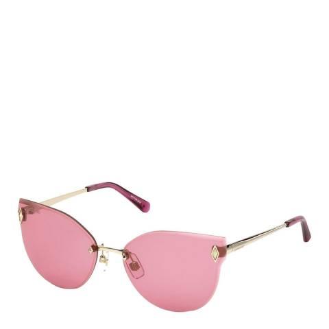 SWAROVSKI Women's Pink Swarovski Sunglasses 61mm