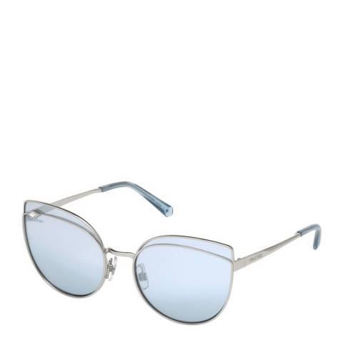 SWAROVSKI Women's Blue Swarovski Sunglasses 60mm