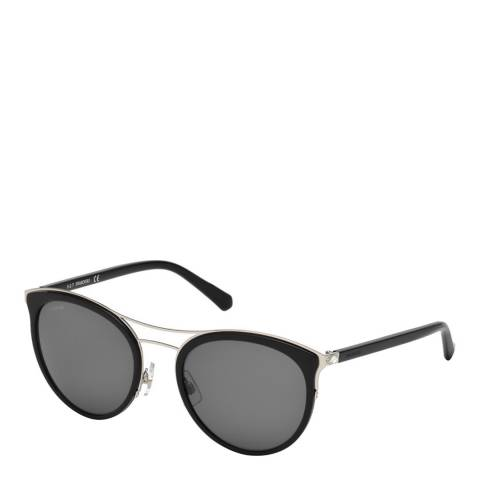 SWAROVSKI Women's Black Swarovski Sunglasses 55mm