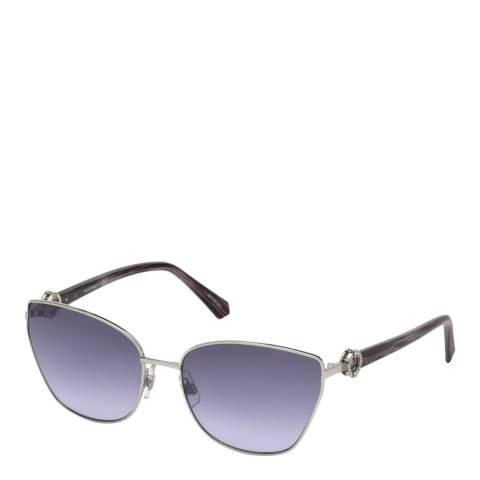 SWAROVSKI Women's Purple Swarovski Sunglasses 59mm