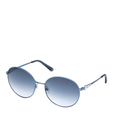 SWAROVSKI Women's Blue Swarovski Sunglasses 61mm