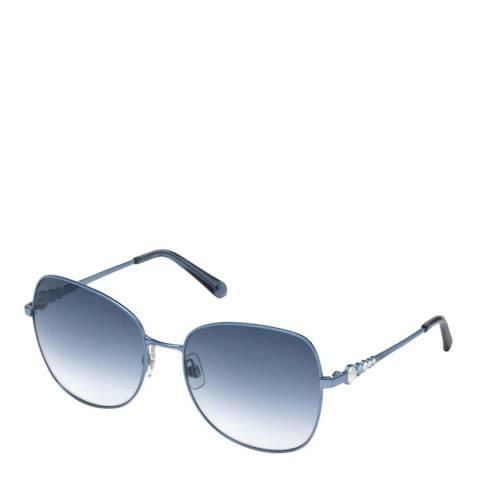 SWAROVSKI Women's Blue Swarovski Sunglasses 59mm