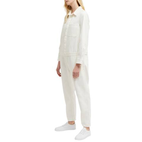 French Connection White Mardo Jumpsuit