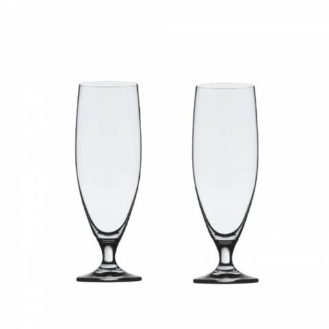Stolzle Set of 2 Imperial Beer Footed Beer Glasses, 500ml