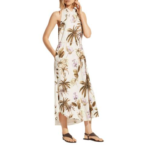 Vince Natural/Multi Tropical Garden Dress