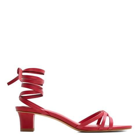 Mango Cherry Bari Heeled Sandals