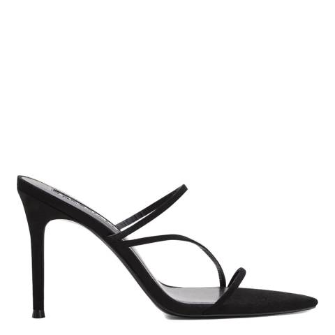 Mango Black Dalia Heeled Sandals