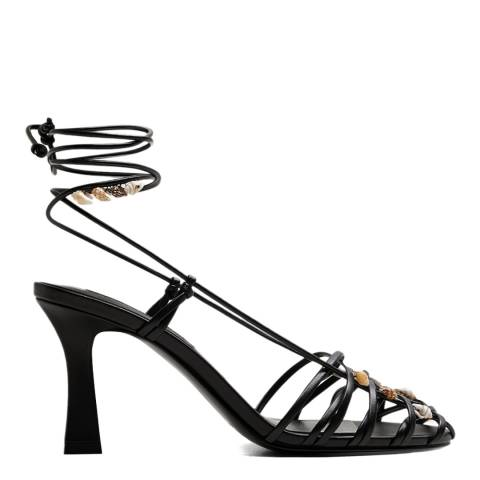 Mango Black Arista Heeled Sandals