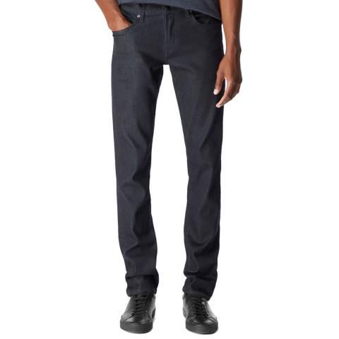 J Brand Navy Kane Straight Stretch Jeans