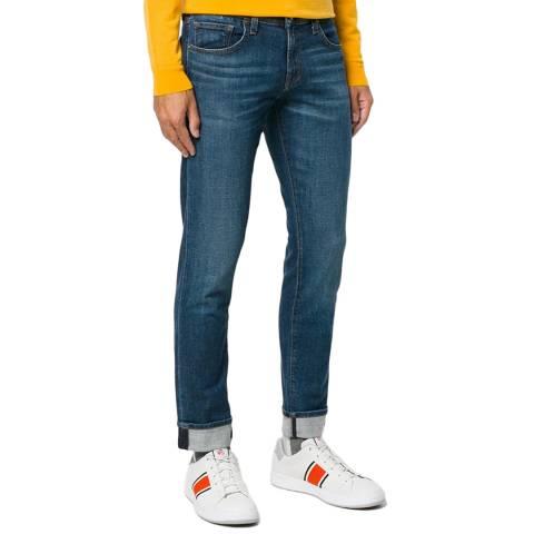 J Brand Blue Tyler Taper Stretch Jeans