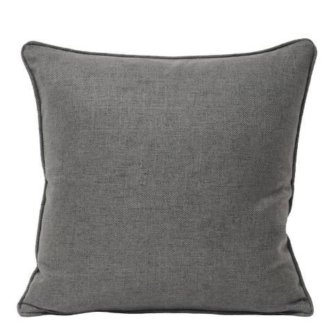 Paoletti Grey Atlantic Filled Cushion, 45x45cm