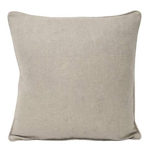 Paoletti Natural Atlantic Filled Cushion, 55x55cm