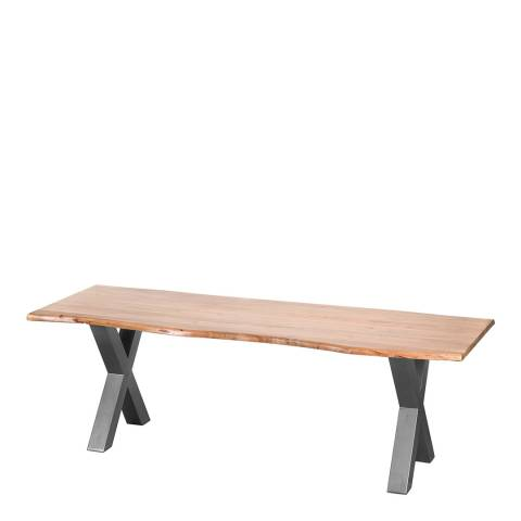 Hill Interiors Live Edge Large Dining Table