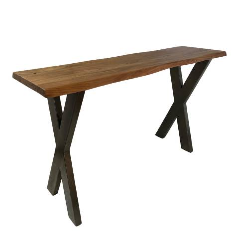 Hill Interiors Live Edge Collection Large Console Table