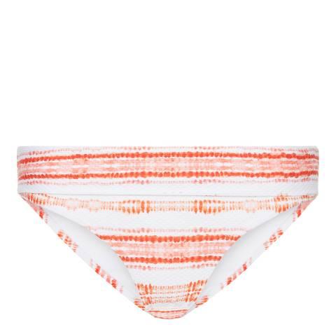 Heidi Klein Red Vittaveli Folded Bikini Bottoms