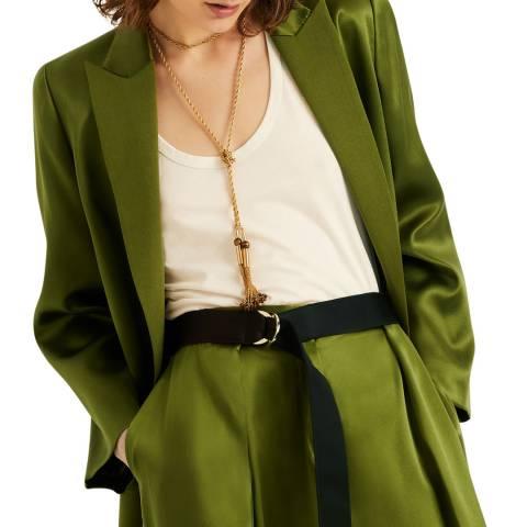 Amanda Wakeley CBS Blazer CBS Mid Green Size 08
