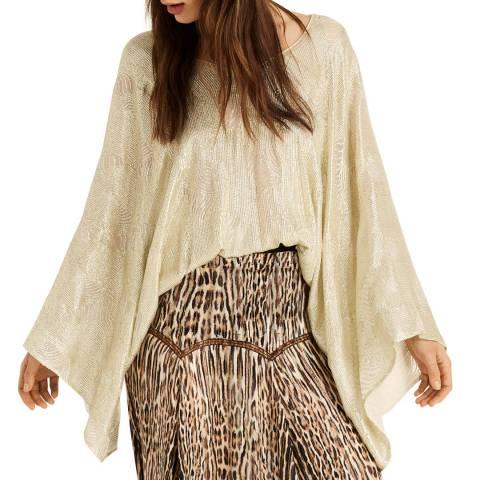 Amanda Wakeley Embellished Top Embellishment Ecru Multi Size Extra Small