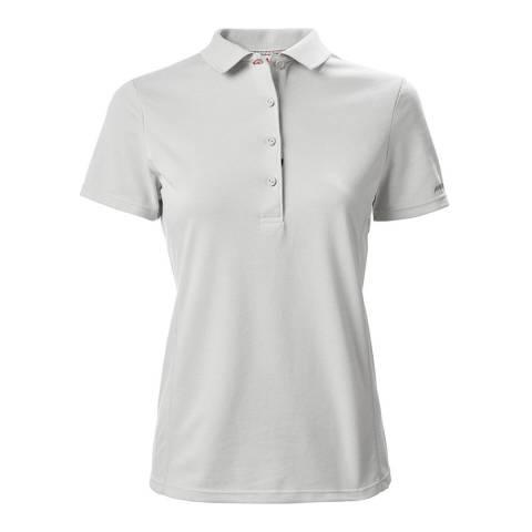 Musto White EVO Sunblock Short Sleeve Polo
