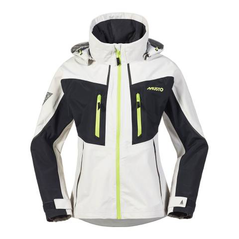 Musto White Race Lite Jacket