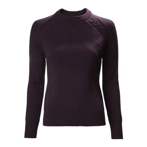 Musto Blue Country Crew Neck Jumper