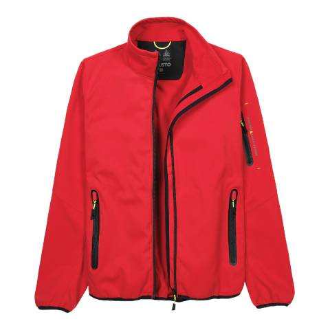 Musto Red Crew Softshell Jacket