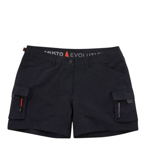 Musto Black Deck Short