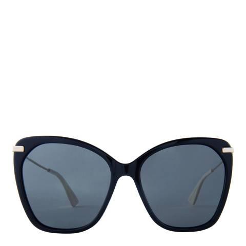 Gucci Women's Black/Gold  Gucci Sunglasses 58mm