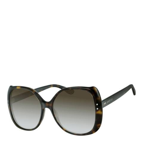 Gucci Women's Havana Gucci Sunglasses 55mm