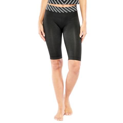 Electric Yoga Black Linear Biker Short