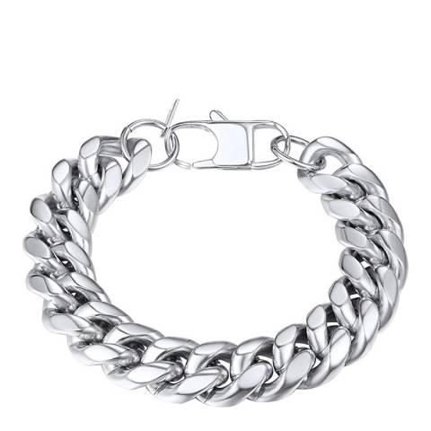 Stephen Oliver Silver Plated Link Bracelet