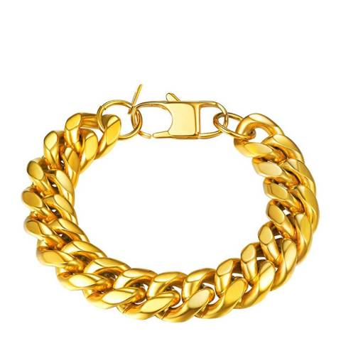 Stephen Oliver 18K Gold Plated Link Bracelet